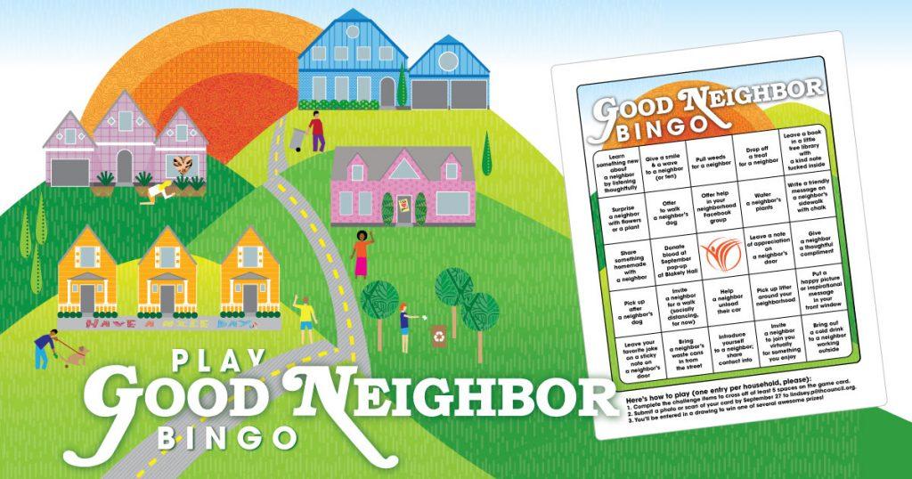 Good Neighbor Bingo Challenge