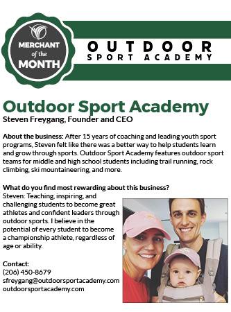 Outdoor Sport Academy Merchant of the Month