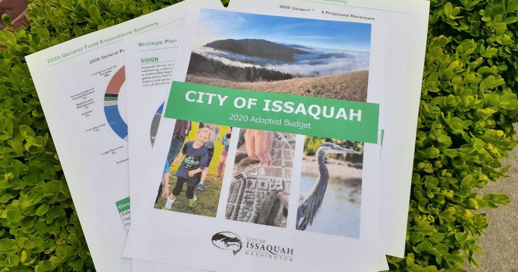 City of Issaquah Budget