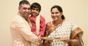 Tirumale Family Diwali