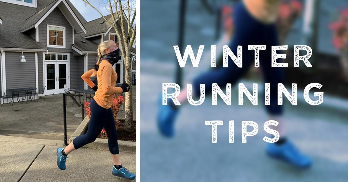 Larissa Kolasinski Winter Running Tips