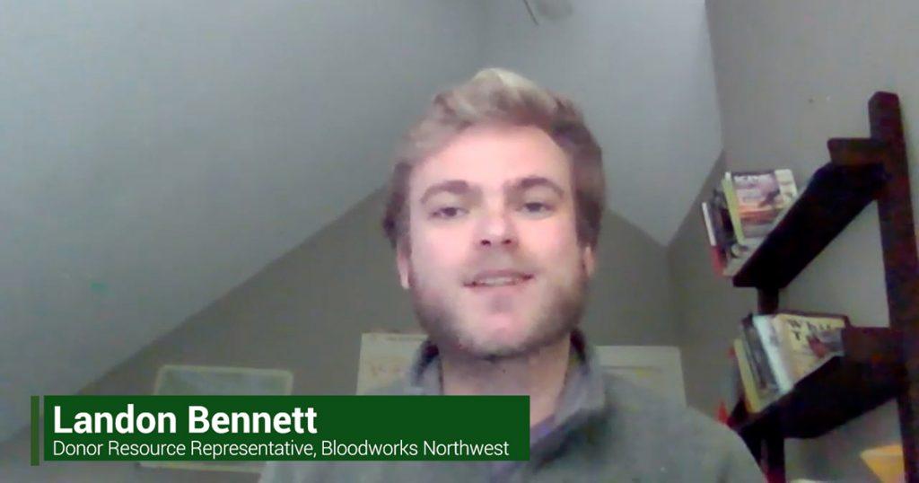 Landon Bennett Bloodworks Northwest