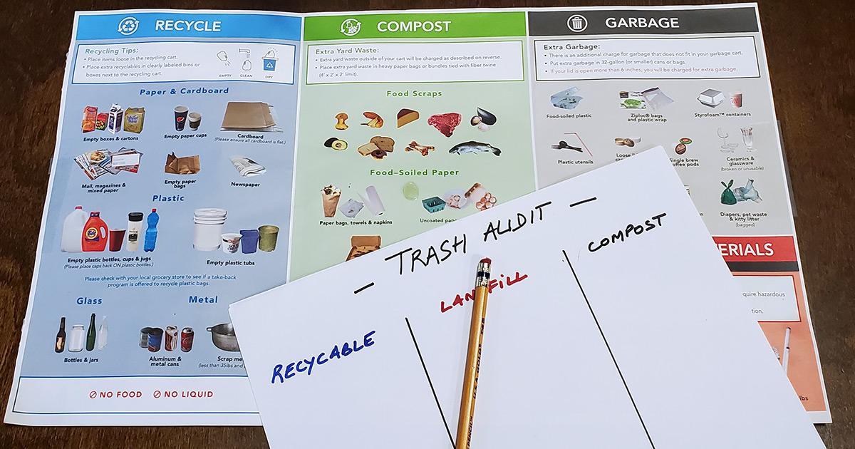 Home Trash Audit