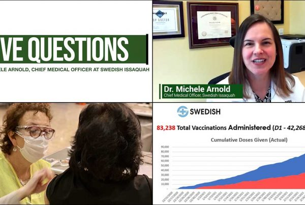Five Questions Dr. Michele Arnold Swedish Issaquah