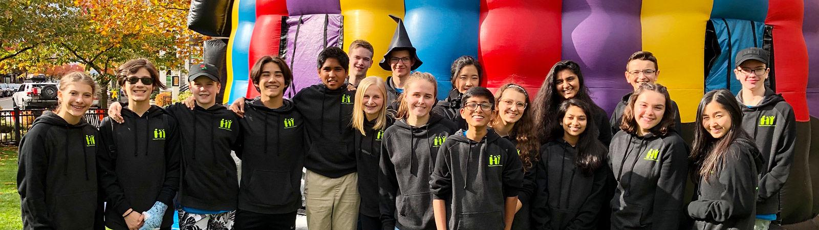 Highlands Youth Advisory Board group photo