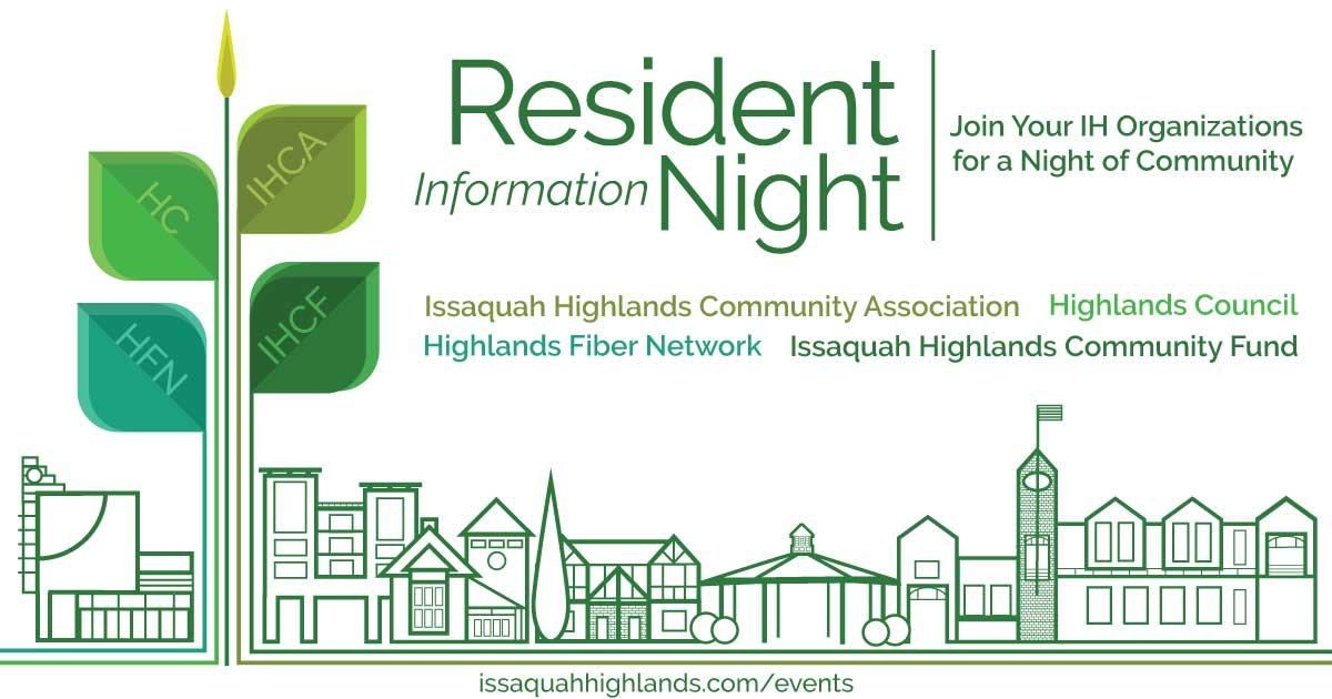 Issaquah Highlands Resident Information Night