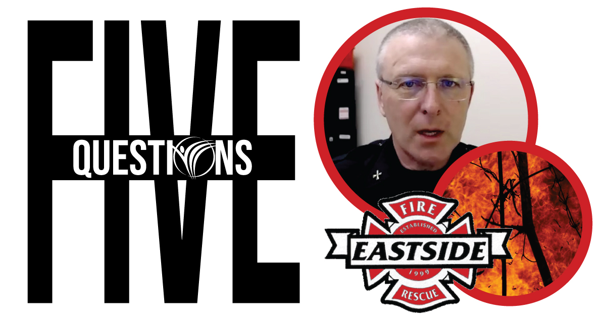 5 Questions with EFR BC Dave McDaniel