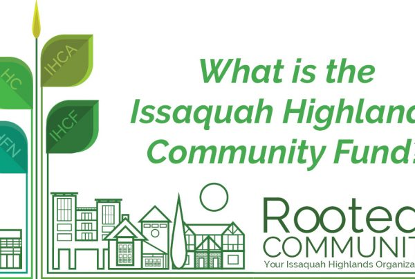What is the Issaquah Highlands Community Fund?
