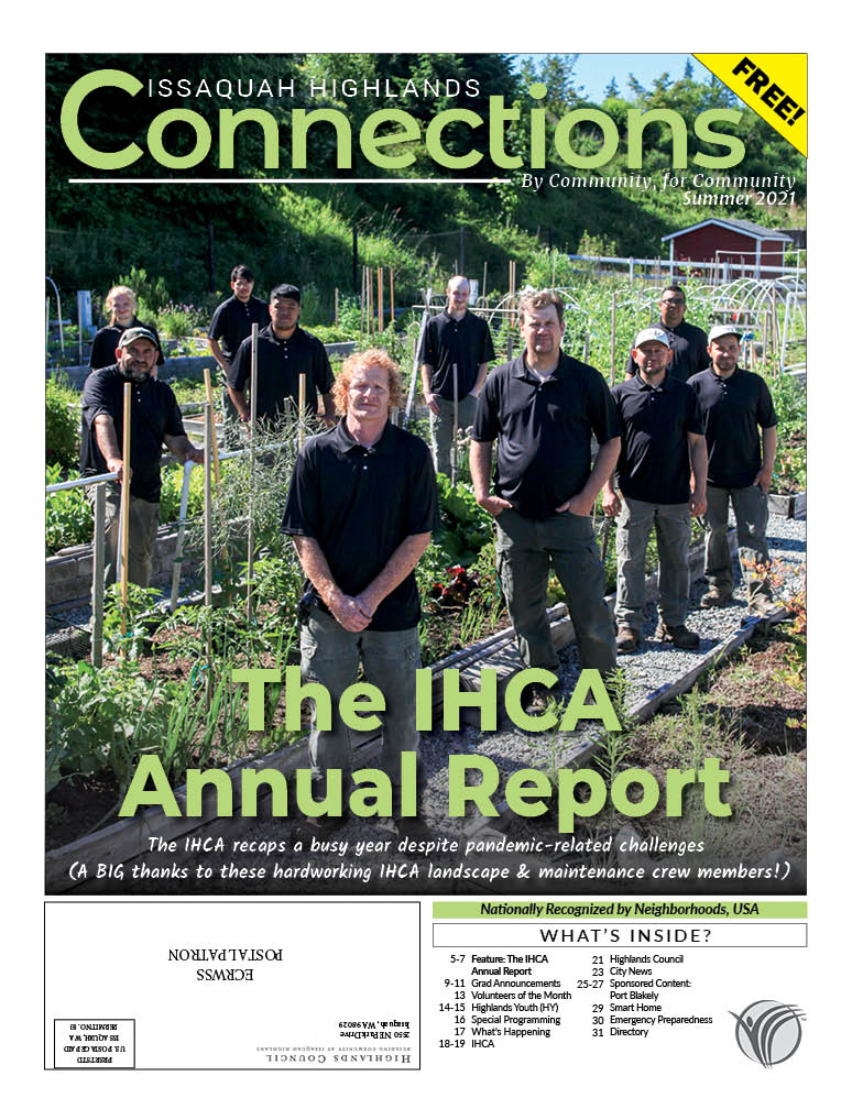 Connections July 2021 cover