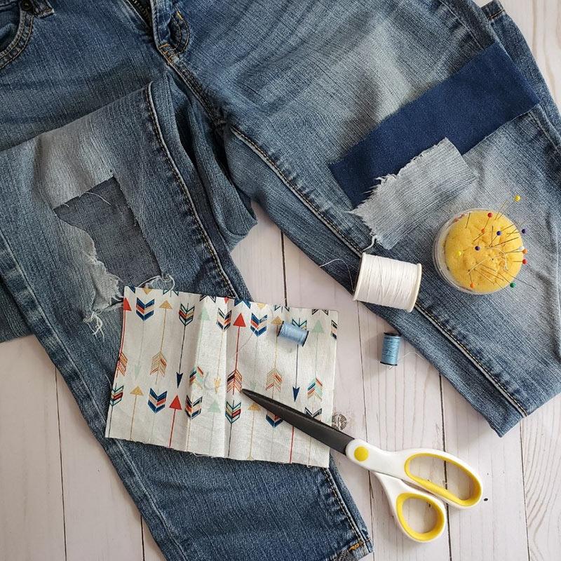 jean patchwork supplies
