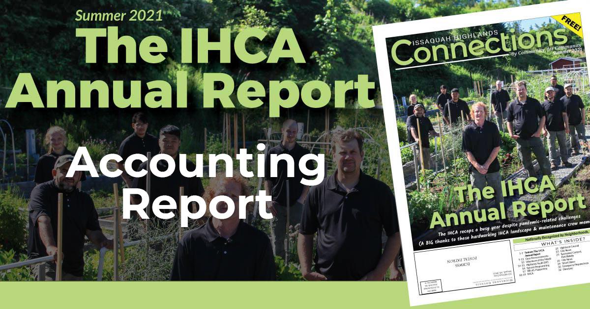 2021 IHCA Accounting Report