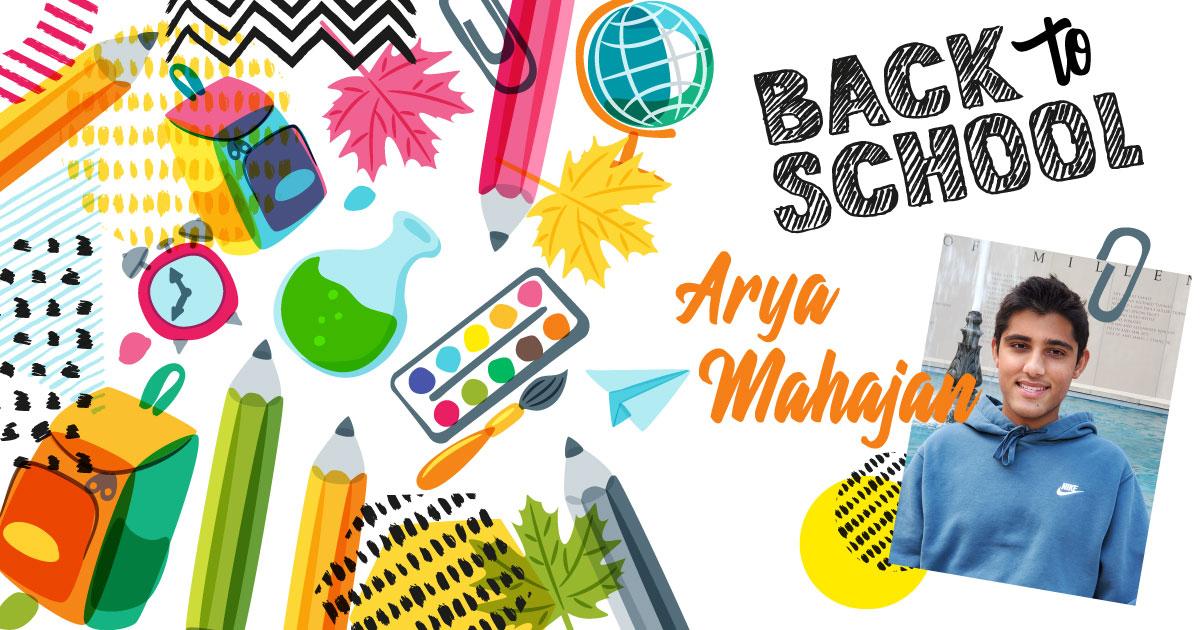 Back to School Arya Mahajan
