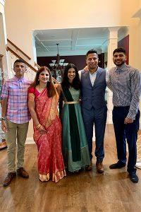 Jaya Sathi and family