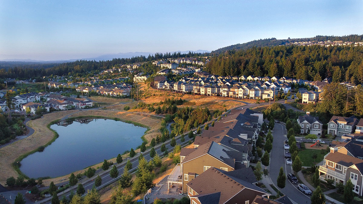 Issaquah Highlands drone